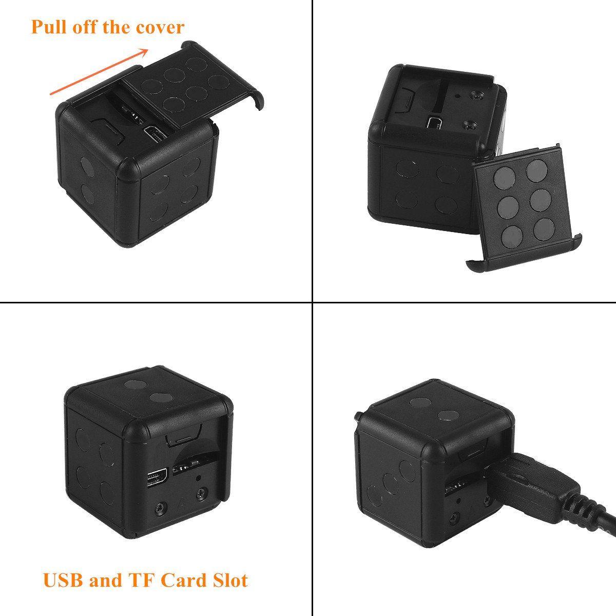 Car DVR Driving Recorder Spy Hidden HD Camera Video Android USB 1080P TF Card