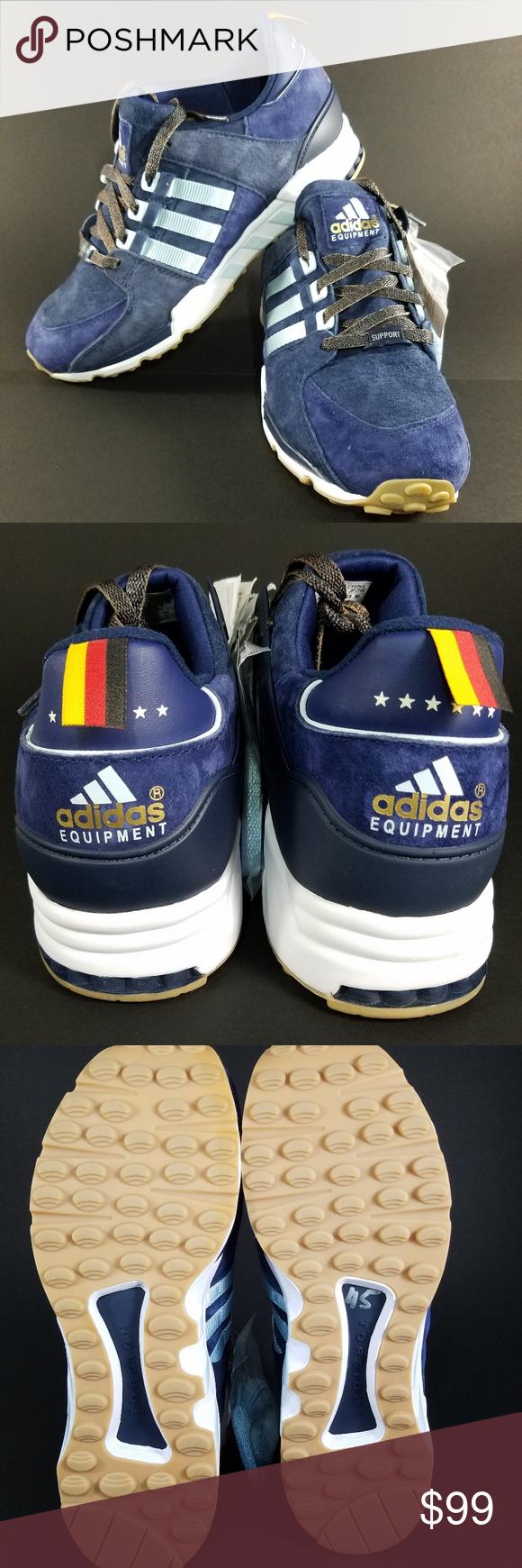 27dc95599cff Adidas Men s Navy Retro Berlin Marathon 93  New Brand  Adidas Product Line  EQT  93 Equipment Berlin Marathon LTD Size  9.5  10.5  11.5  12 Gender  Men s ...