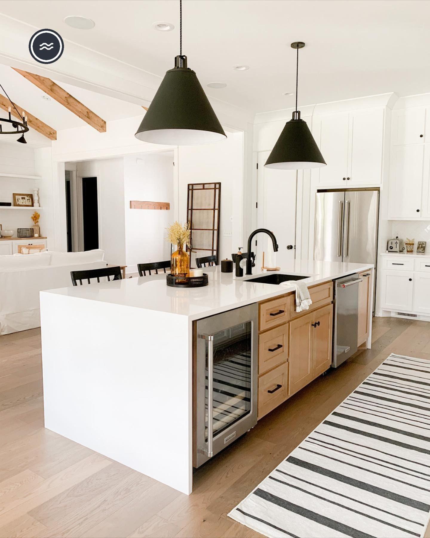 Hudson Stripe Black Rug In 2021 Home Decor Kitchen Kitchen Design Interior Design Kitchen