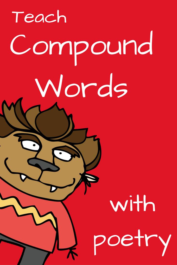 Kindergarten Poetry Book Cover : Compound words poetry kindergarten book activities and