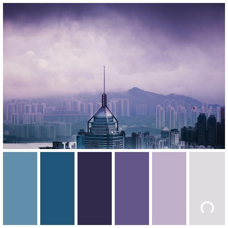 Color Palette, Color Combination, Farbpalette, Hue, Violet