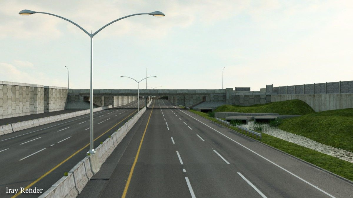 Divided Highway | 3D Models and 3D Software by Daz 3D