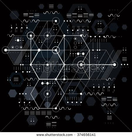 stock-vector-vector-industrial-and-engineering-background-future - copy blueprint network design