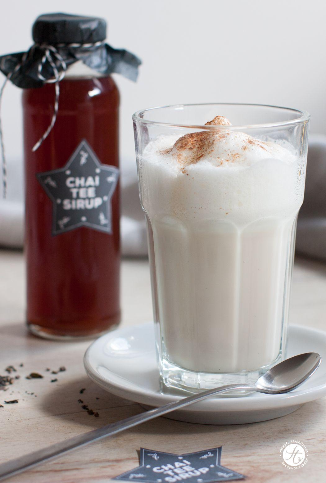 Geschenke aus der Küche: Chai-Tee-Sirup | christmas. inspiration ...