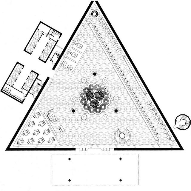 Ground floor plan of the National Commercial Bank, Jeddah