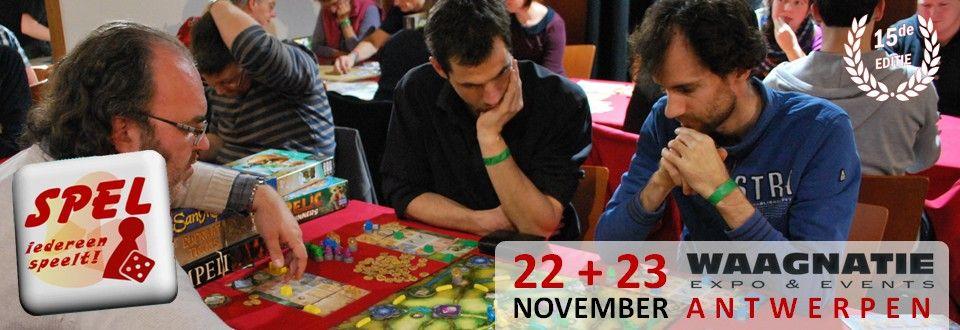 Spel 2014  - spellenbeurs - 22  + 23 november 2014 waagnatie antwerpen