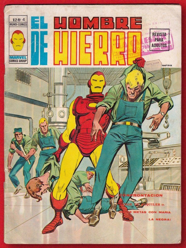 El Hombre De Hierro | Comics | Pinterest | Hierro, Cómic y Dibujo