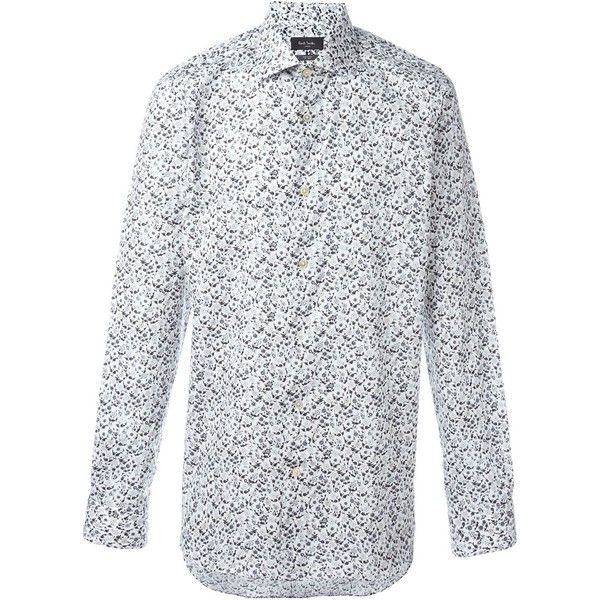 Paul Smith London floral print shirt (318.135 COP) ❤ liked on ...