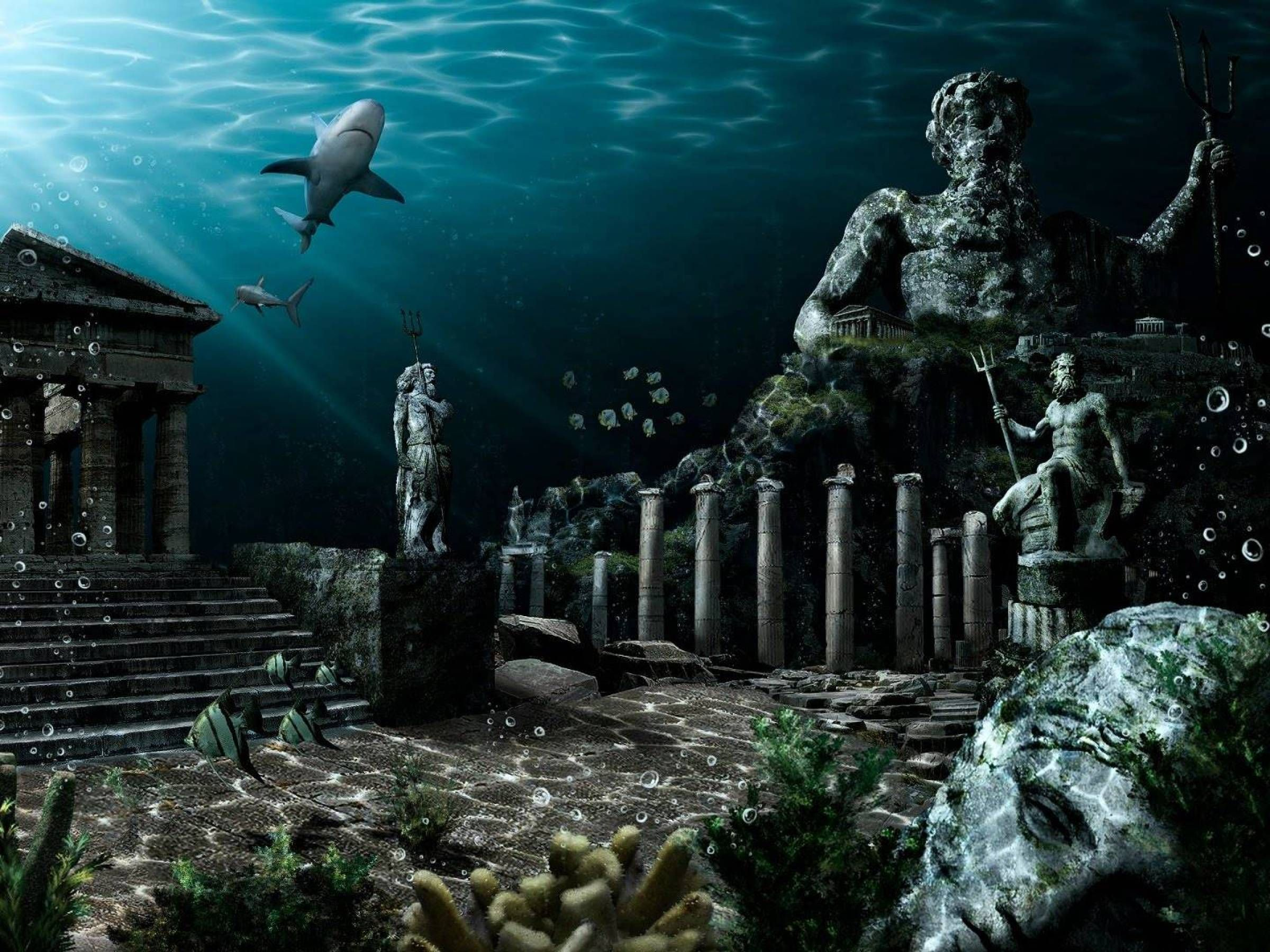 a research on atlantis the forgotten city of the deep Atlantis the lost empire: milo finds danger and friendship in the forgotten city deep below the sea lies the legendary lost empire of atlantis.