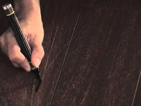 Repair Scratch Engineered Wood Floor Youtube Diy Home Repair