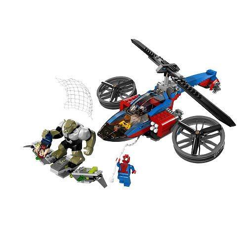 "LEGO Super Heroes Spider-Helicopter Rescue (76016) - LEGO - Toys""R ..."