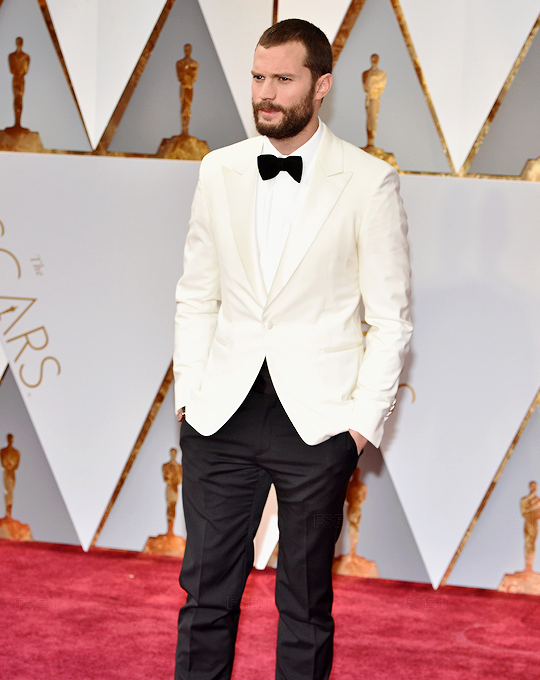 Jamie Dornan in Hermes attends the 89th Annual Academy Awards at Hollywood & Highland Center on February 26, 2017 in Hollywood, California.
