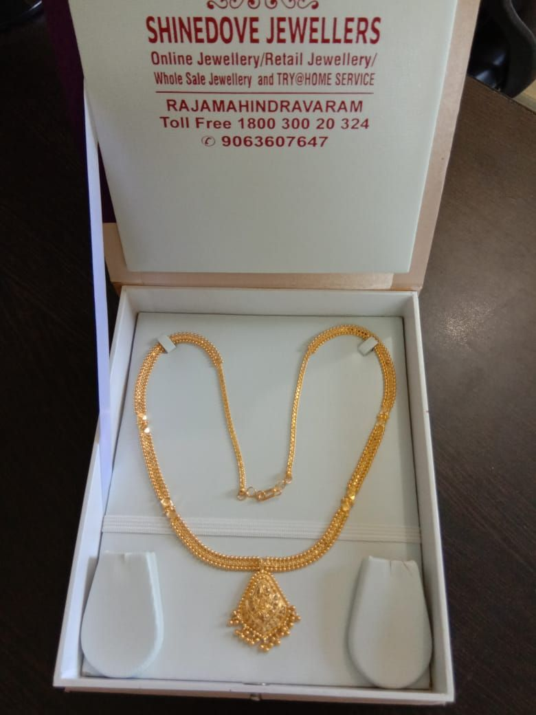 Ready For Sale Gold Necklace Pure Handmade 916 Kdm Hallmark Gold Weight 2 Bridal Gold Jewellery Designs Gold Jewelry Simple Necklace Gold Necklace Designs