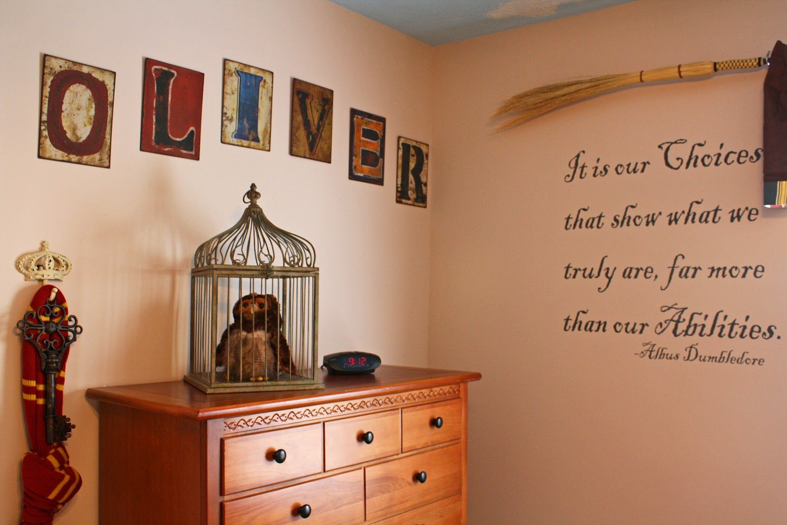 We have a wizard in the family harry potter nursery for Room decor harry potter