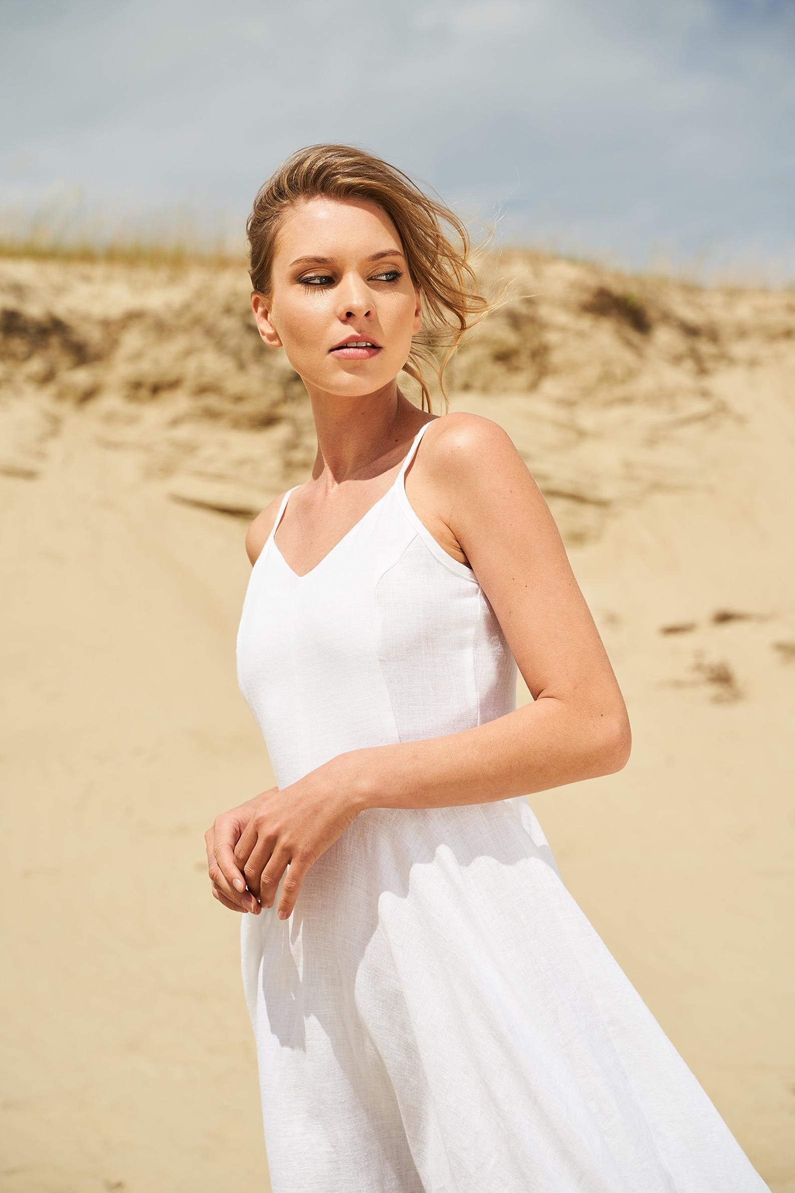 Maxi Linen Dress Odessa Linen Circle Dress With Spaghetti Straps Linen Wedding Dress Long White Linen Dress For Woman Occasion Dress Usados [ 2382 x 1588 Pixel ]