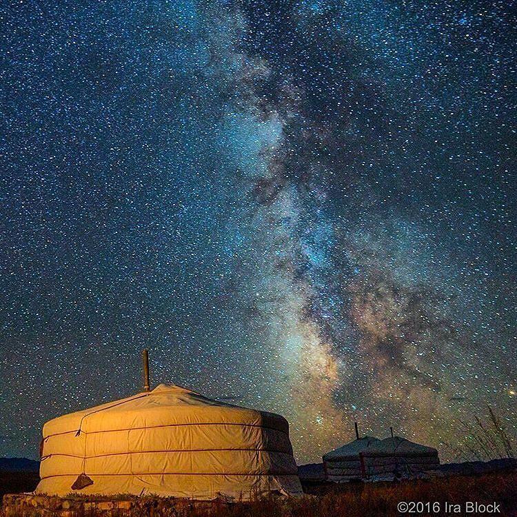 Night Sky in Gobi Desert, Mongolia