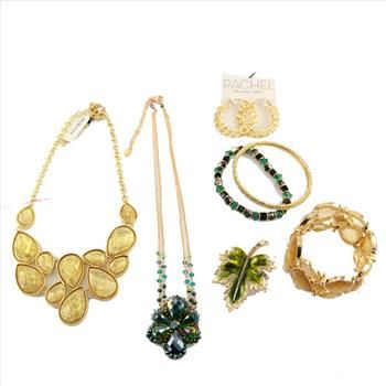 8 Pieces of Designer Jewelry (Style & Co./Rachel Roy) - Retail: $120. | Property Room
