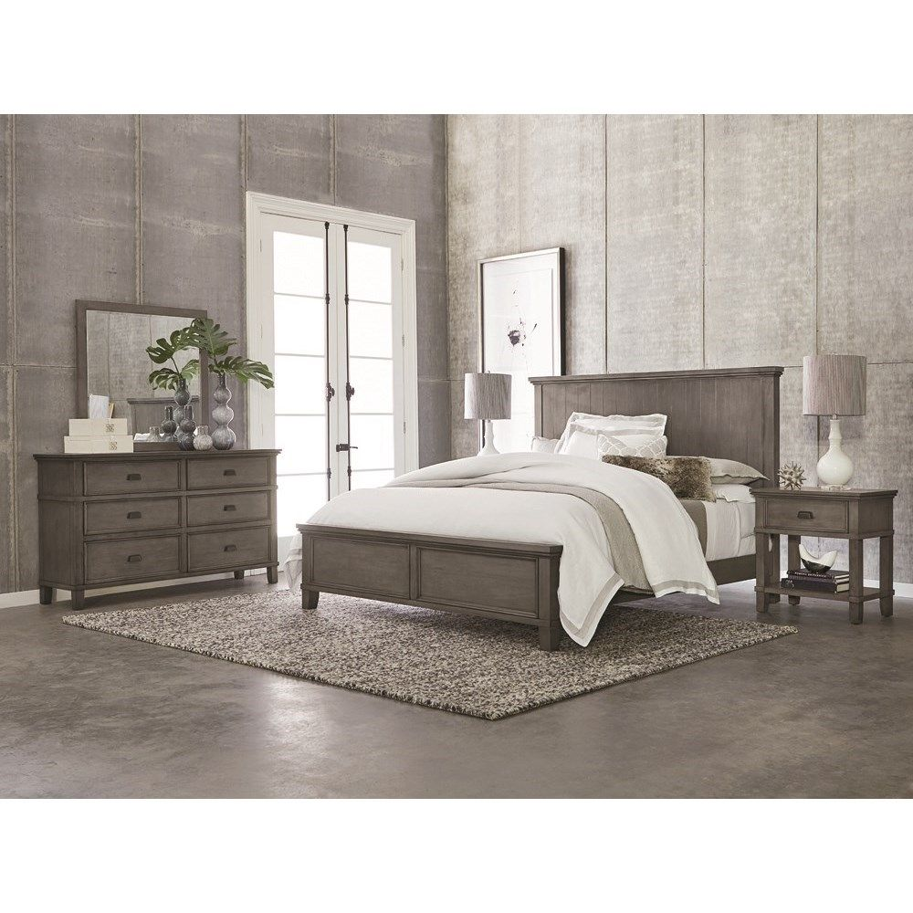 Brentwood King Bedroom Group by Bassett Contemporary