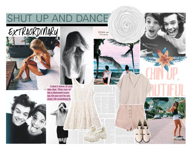 """""""This woman is my destiny, she said, """"Ooh, shut up and dance with me."""""""" by lauraastyle ❤ liked on Polyvore featuring Wallflower and MASSCOB"""