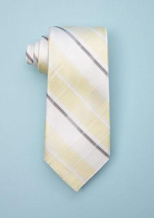On ideeli: CALVIN KLEIN Bianco Plaid Tie
