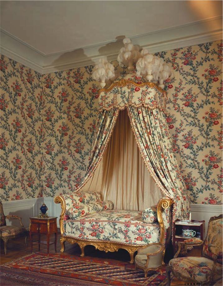 Rococo louis xv baroque oriental and style for Lit louis xv