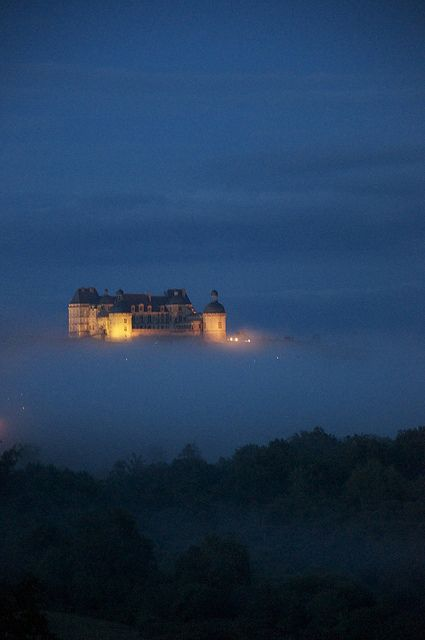 Château de Hautefort, France by tom-sabin, via Flickr