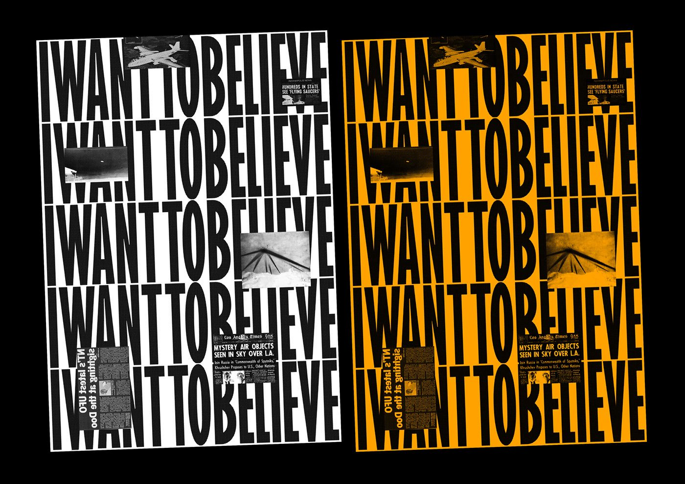 I Want To Believe on Behance