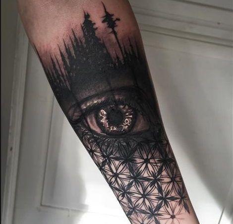 24 Tatuajes para hombres en el antebrazo