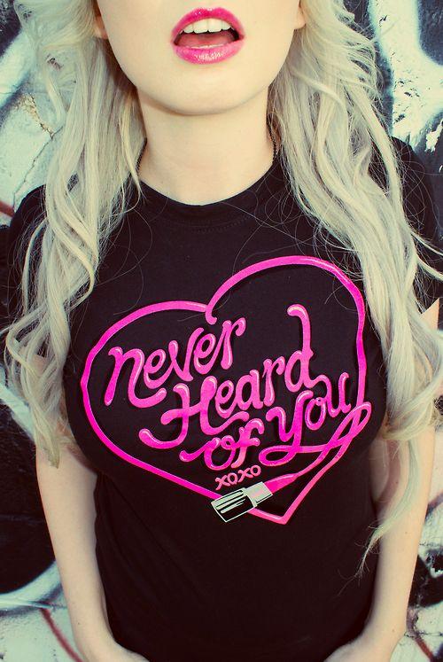 I love this shirt ♡