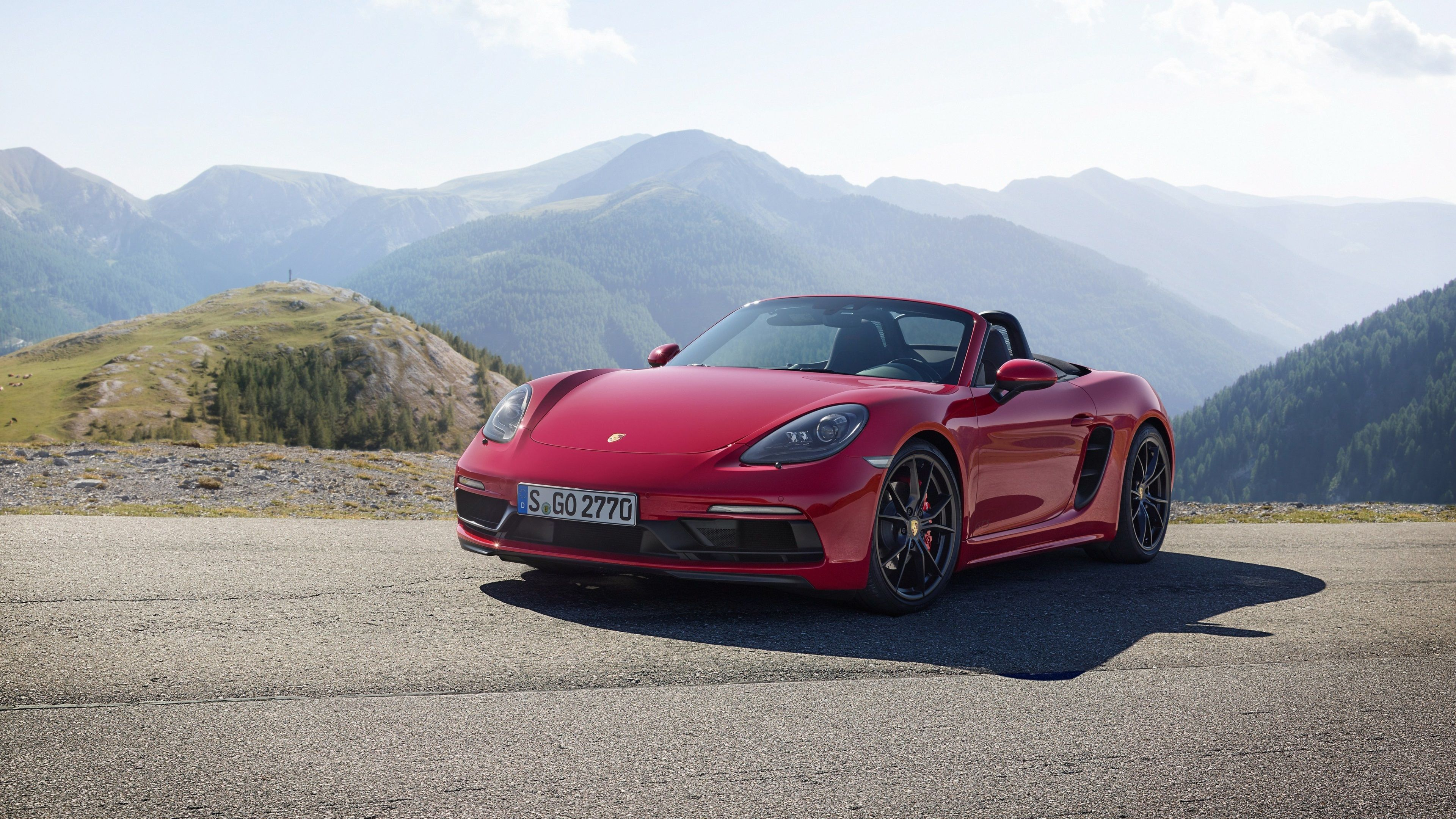 3840x2160 Porsche 718 Boxster Gts 4k Hd Image For Wallpaper