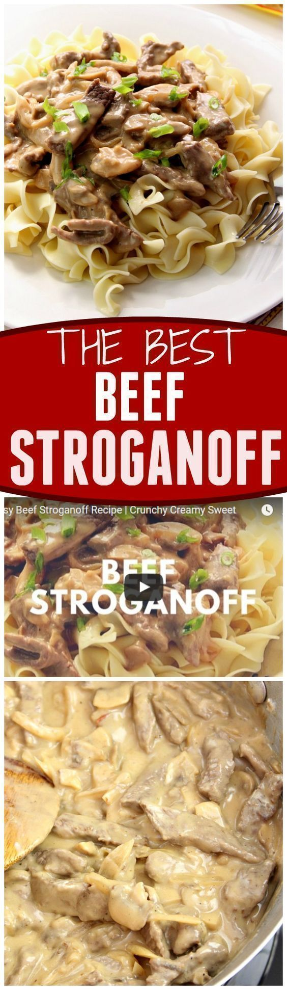 20 Minute Beef Stroganoff Recipe Make This Classic Dish Right In Your Kitchen With Just A Few Ingredients And Only 20 Recipes Beef Recipes Stroganoff Recipe