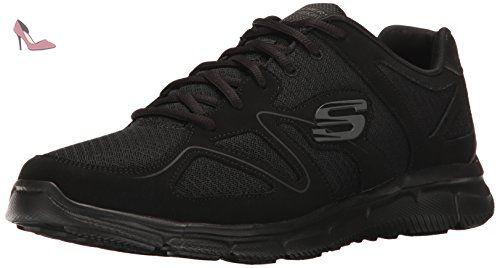 Skechers 58350 Bbk, Chaussures de ville à lacets pour homme
