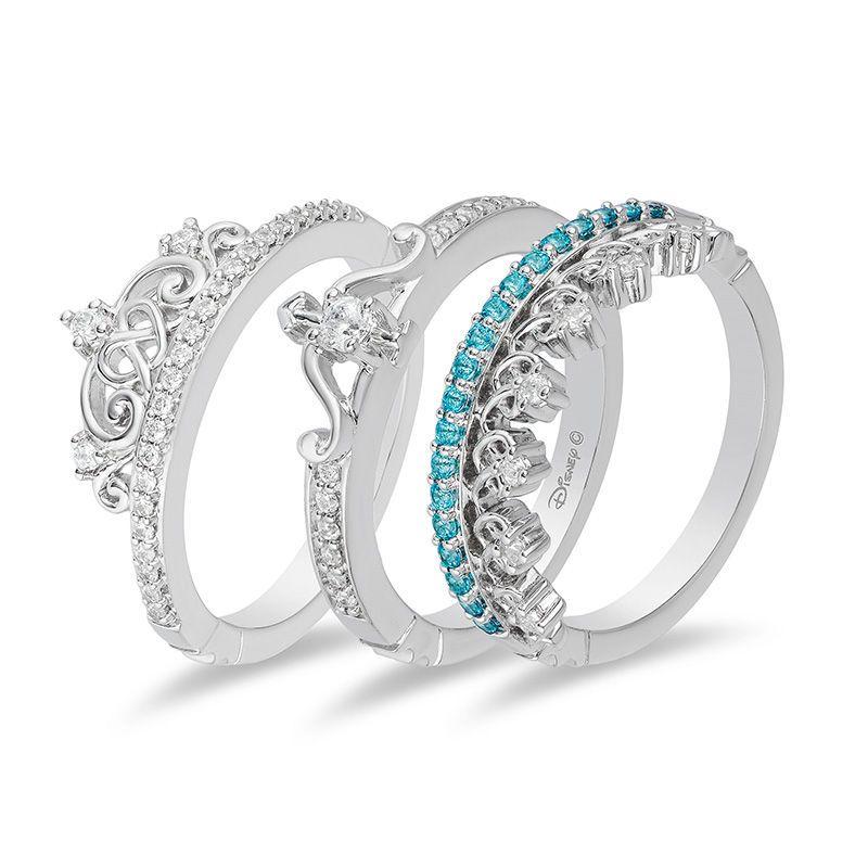 Enchanted Disney Merida 1 4 Ct T W Diamond Celtic Knot