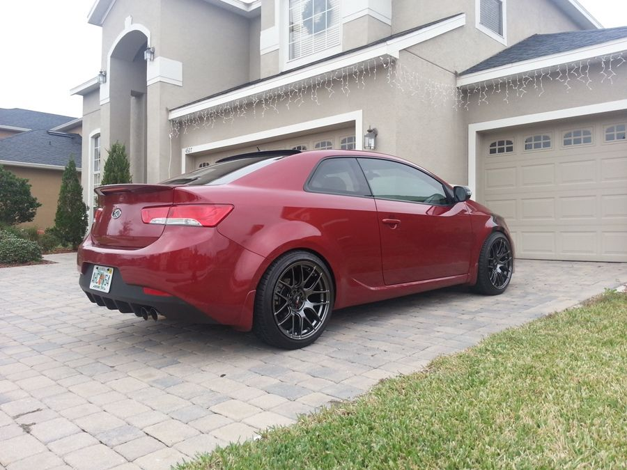 Modified Kia Forte Kia Forte Koup Kia Forte Kia Stance Cars