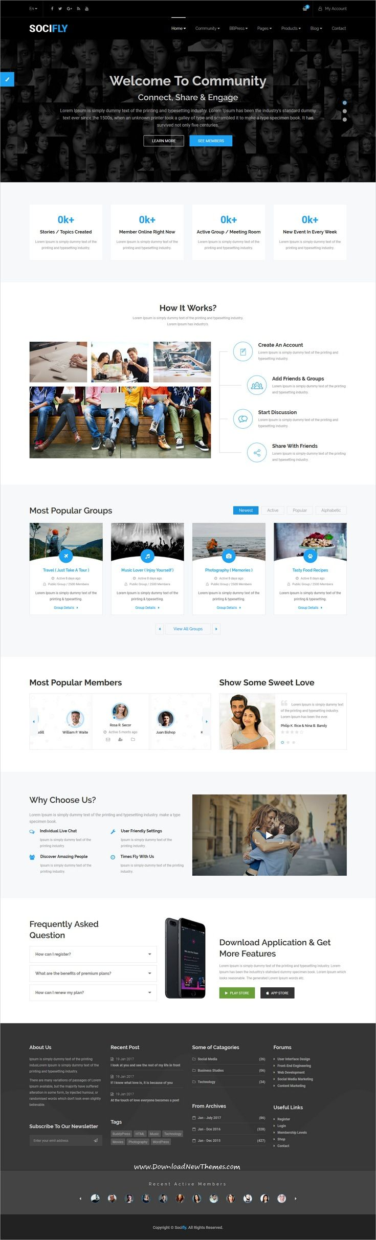 Socifly multipurpose social network html5 template pinterest socifly multipurpose social network html5 template pinterest social networks and template maxwellsz