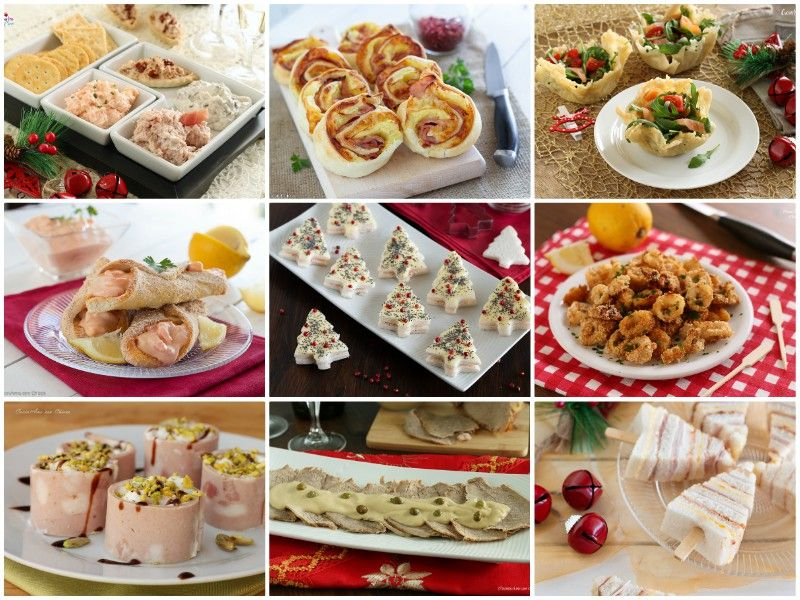 Antipasti Per La Cena Della Vigilia Di Natale.30 Antipasti Per Le Feste Alimenti Di Natale Idee Alimentari Antipasti