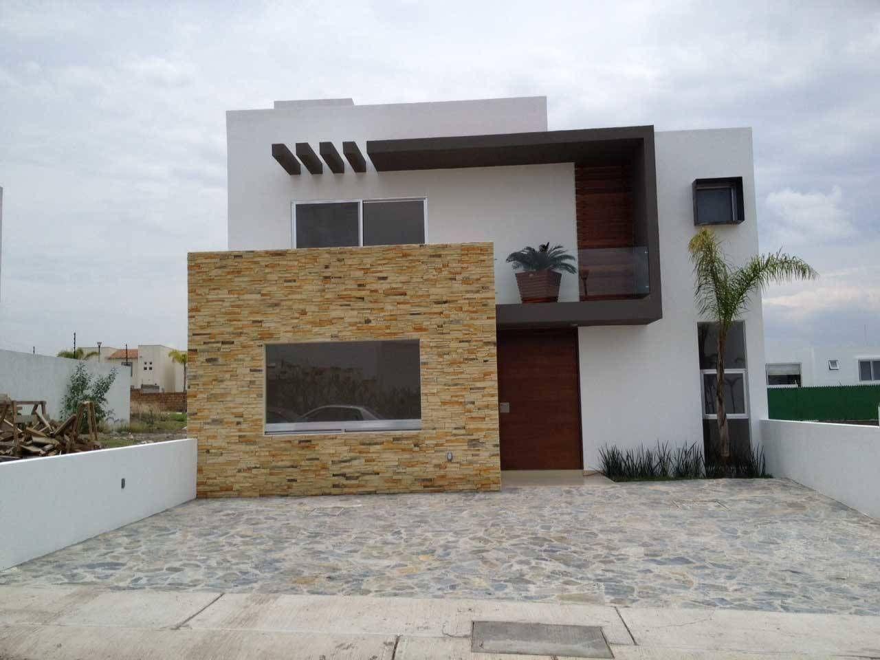 fachada casas modernas de santiago pardo arquitecto