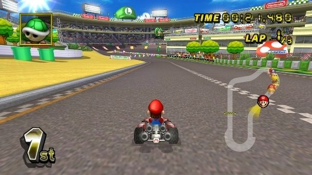 Super Mario Kart 2 Play Free Mario Games Arcader Com Super