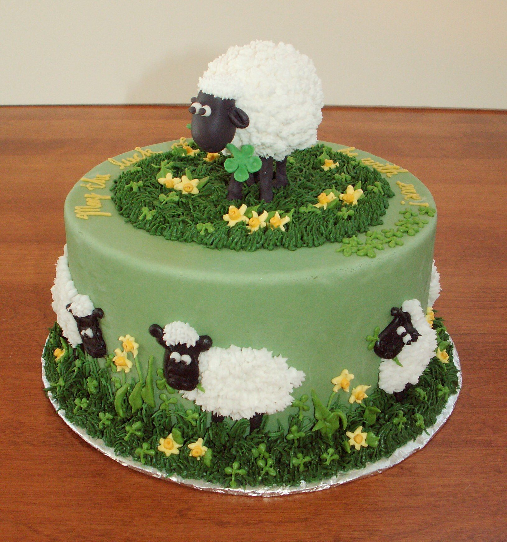 Sheep Cake Its So Cute I Could Never Do It But I Like How It - Sheep cakes birthday