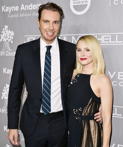 Kristen Bell Shares Funny Wedding Throwback With Dax Shepard Check Out The Picture Celebrity Couples Kristen Bell Celebrities Female
