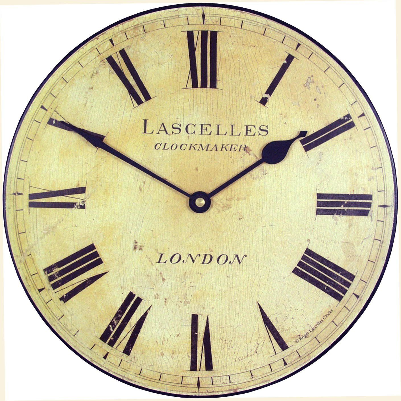 Amazon roger lascelles medium lascelles wall clock 10 inch amazon roger lascelles medium lascelles wall clock 10 inch vintage amipublicfo Gallery