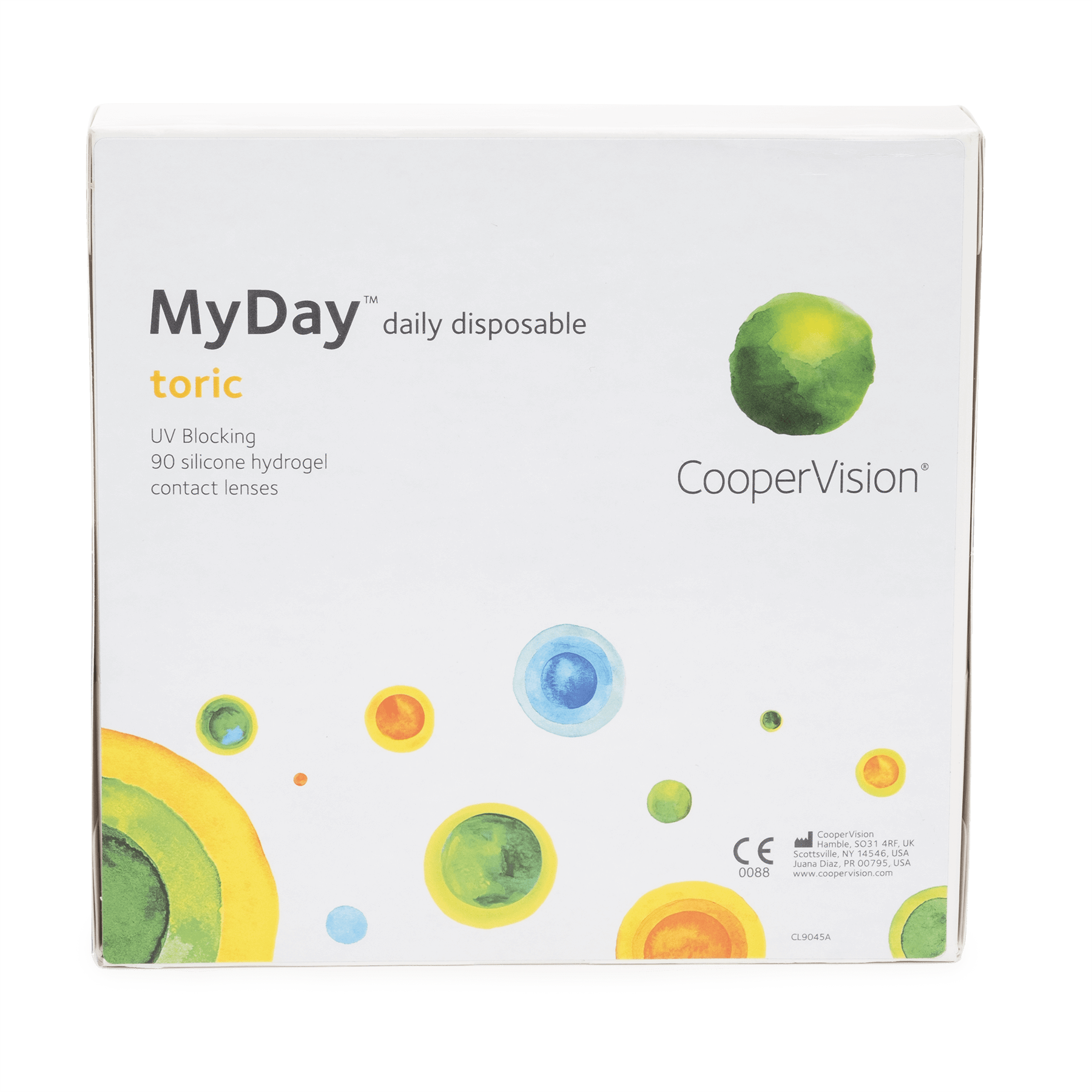 Myday Toric 90pk Contact Lenses For Astigmatism Daily Disposable Contact Lenses Soft Contact Lenses
