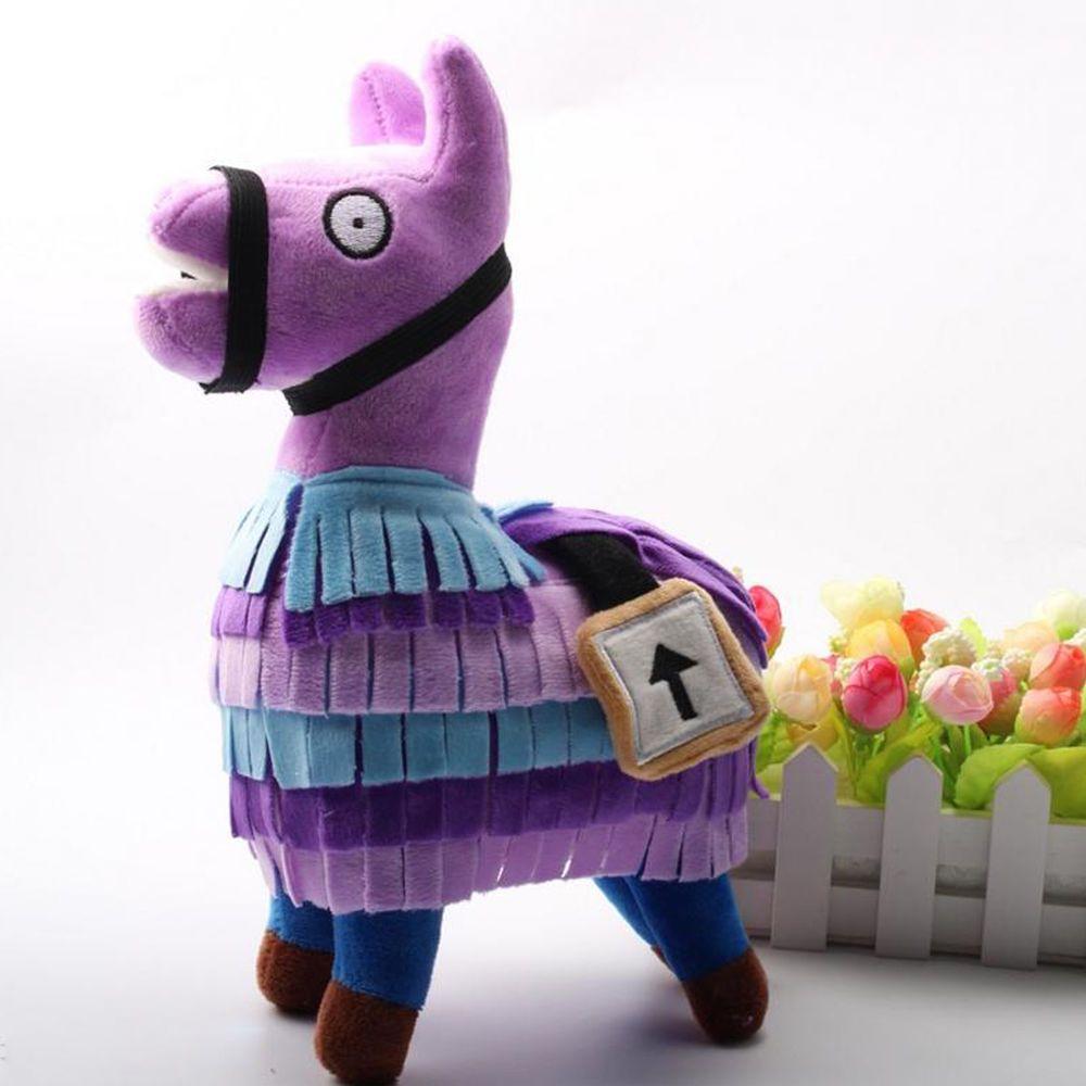 Fortnite Loot Llama Plush Doll Fluffy Troll Stuffed Figure Toys