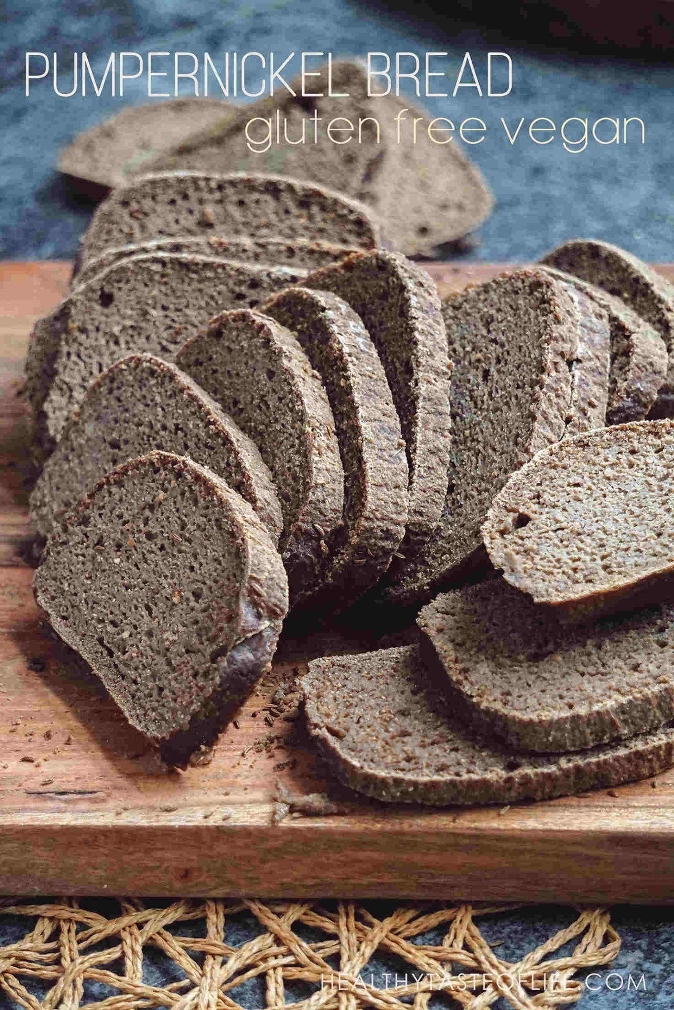 Gluten Free Sourdough Pumpernickel Bread Pumpernickel Bread Recipe Sourdough Pumpernickel Bread Recipe Gluten Free Sourdough