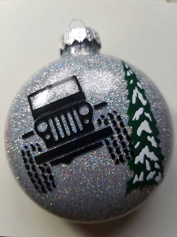 Jeep Christmas Ornament.Jeep Christmas Ornament By Topnotchetching On Etsy Jeep