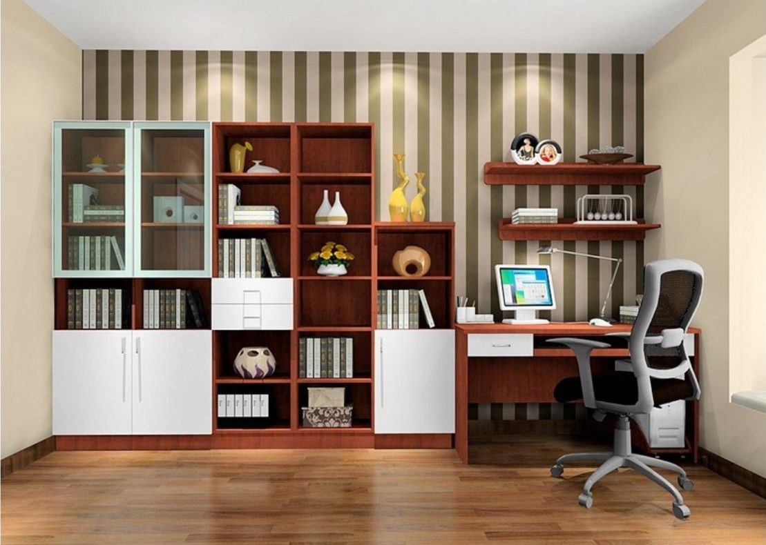 Modern study room interior design art inspiration Home study room ideas