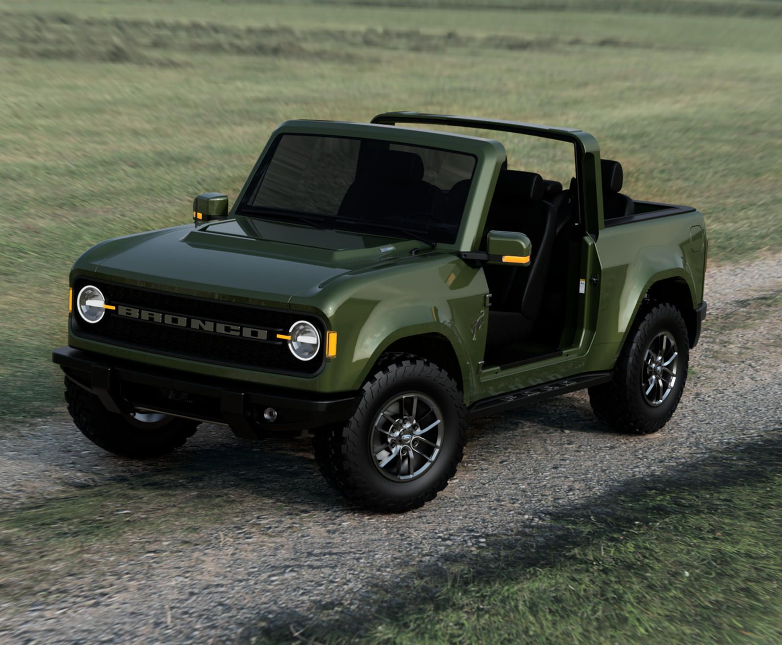 Best Look Yet At 2021 Ford Bronco In 2020 Ford Bronco Jeep Wrangler Pickup Truck Bronco