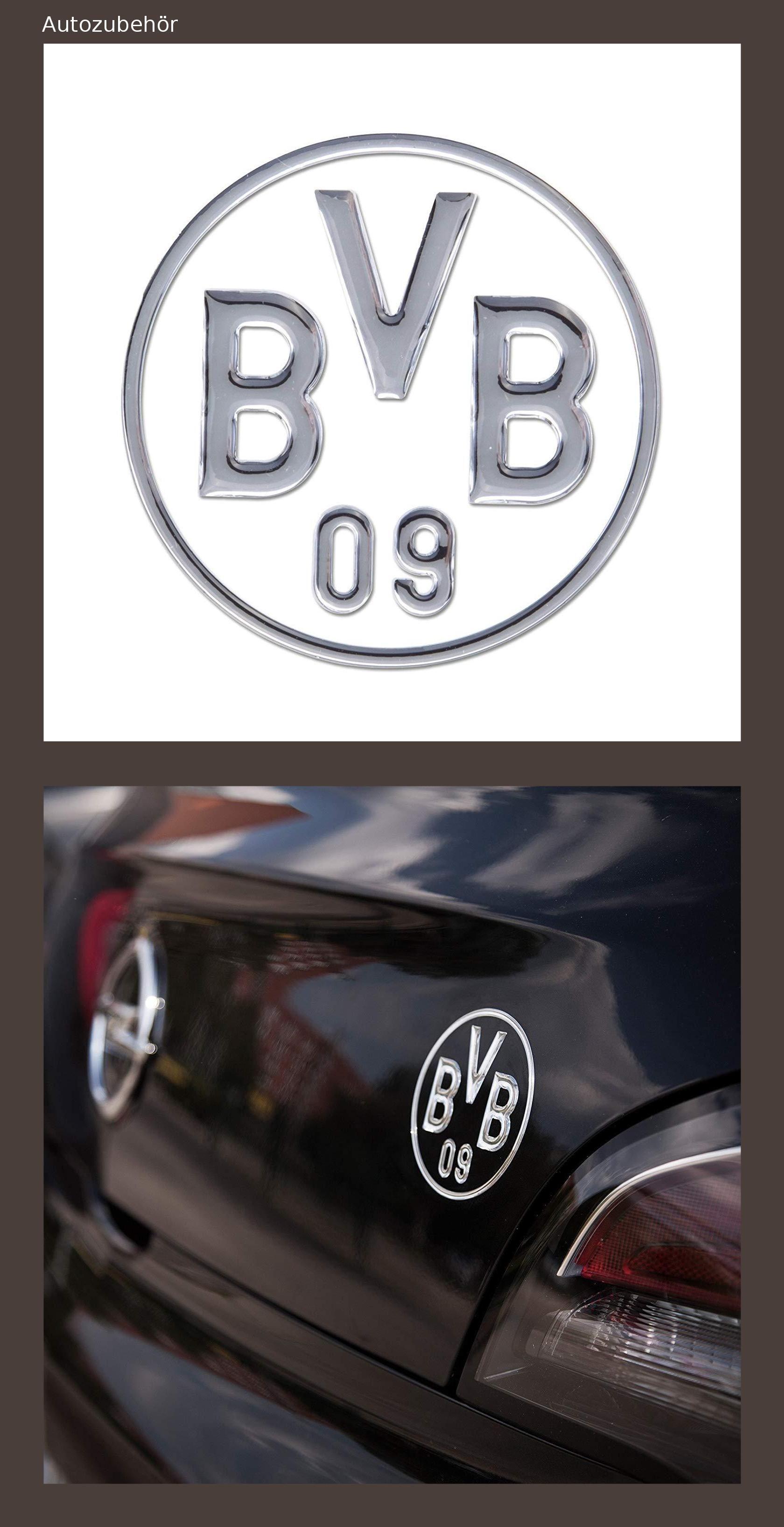 Borussia Dortmund Bvb 09 Bvb Auto Aufkleber Silber