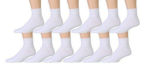 Trimfit Boys 6 PR Wide Rib Crew Socks