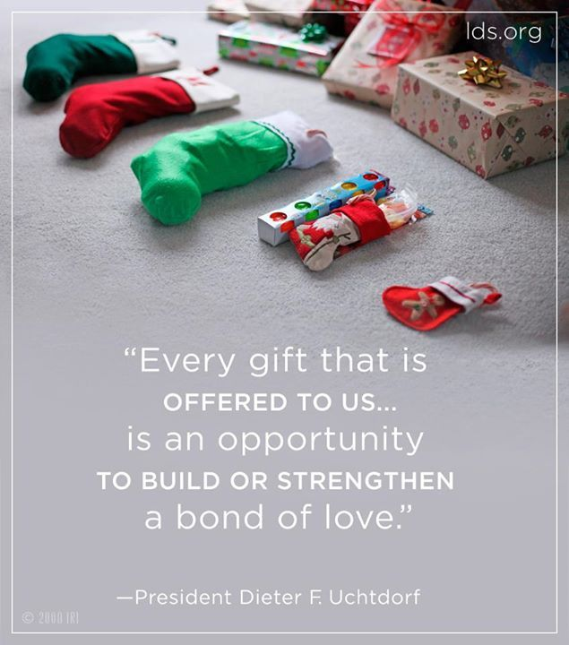 A Christmas Quote From Pres. Uchtdorf #LDS